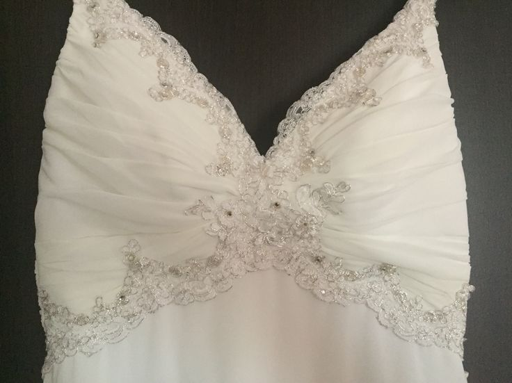 Wedding dress -details