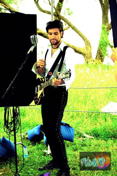 "Daniel Victor - Neverending White Lights : ""This Time"" video shoot"