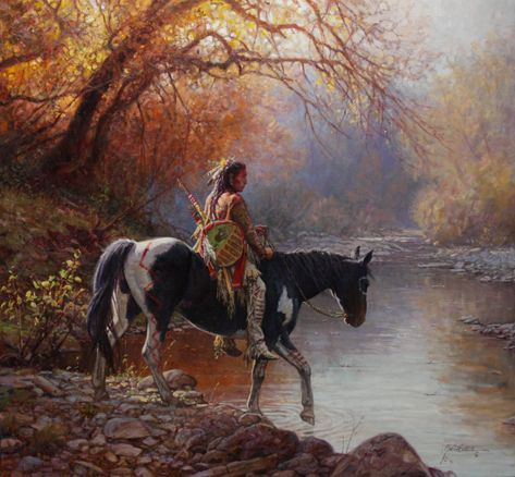 "Image detail for -Martin Grelle ""In The Stillness Of Morning"" oil 28 ..."
