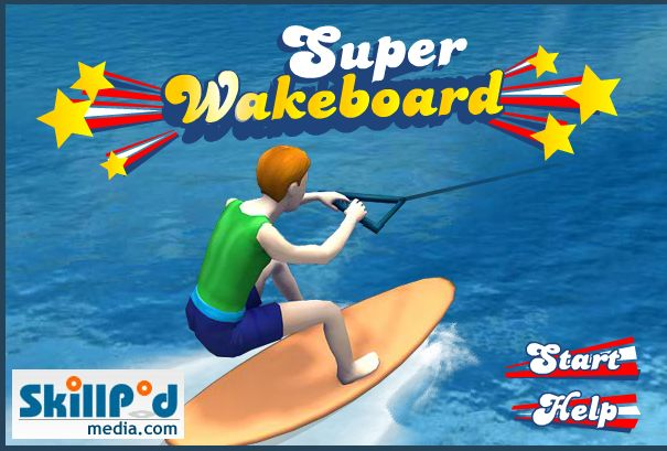 Show off with your wakeboard skill!