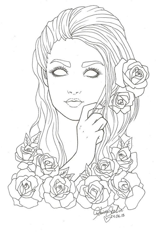 317 best Skull Day of the dead coloring images on