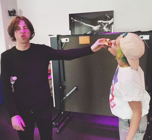 Halsey with Van McCann of Catfish & the Bottlemen