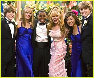 """""""The Zack and Cody""""'s cast"""
