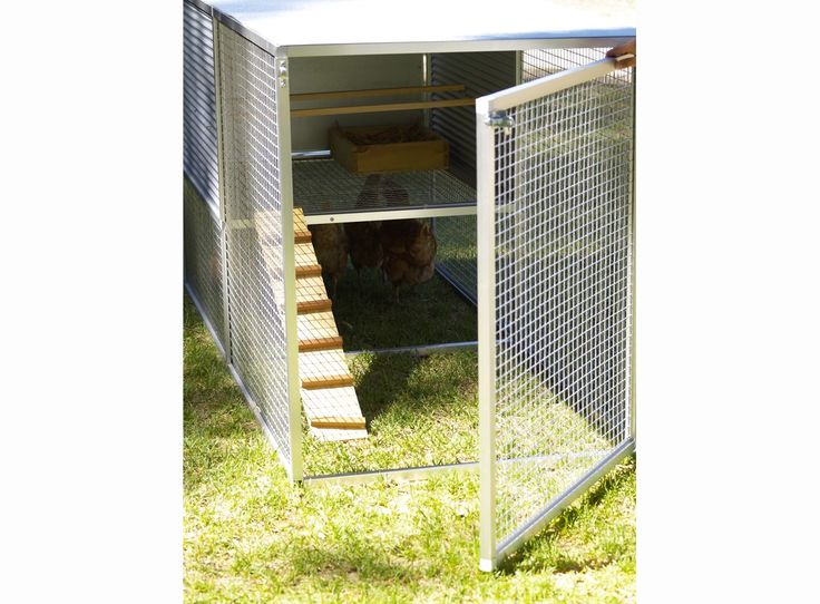 Your chickens will love their upstairs bedroom in their Chicken Castle Deluxe