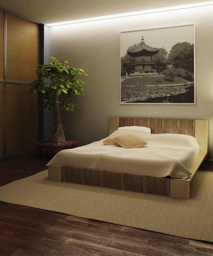 Camera da letto in Japan Style