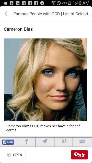 #Celebrities with #OCD