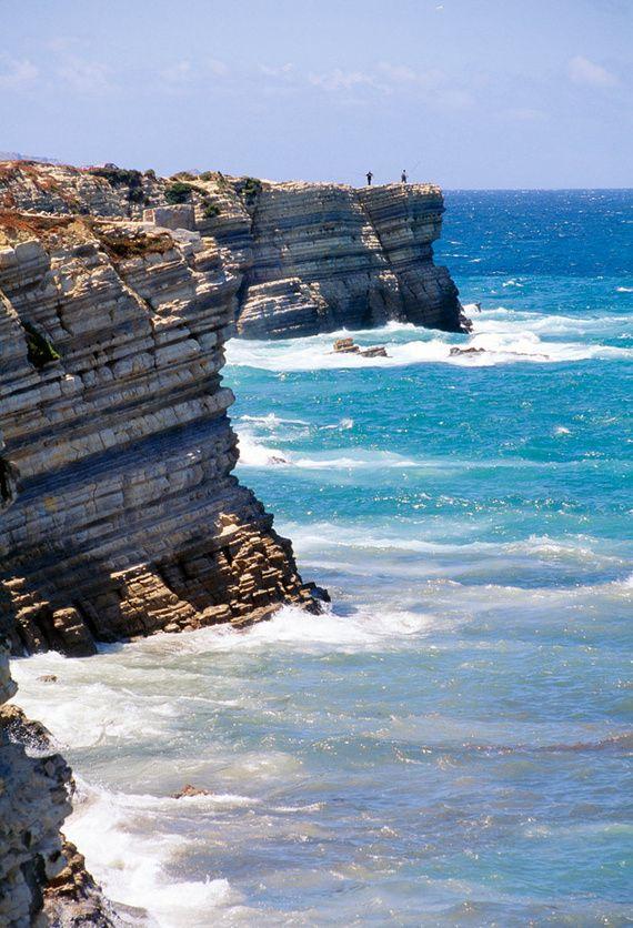 El Cabo Carvoeiro, en Peniche, Surf, Portugal