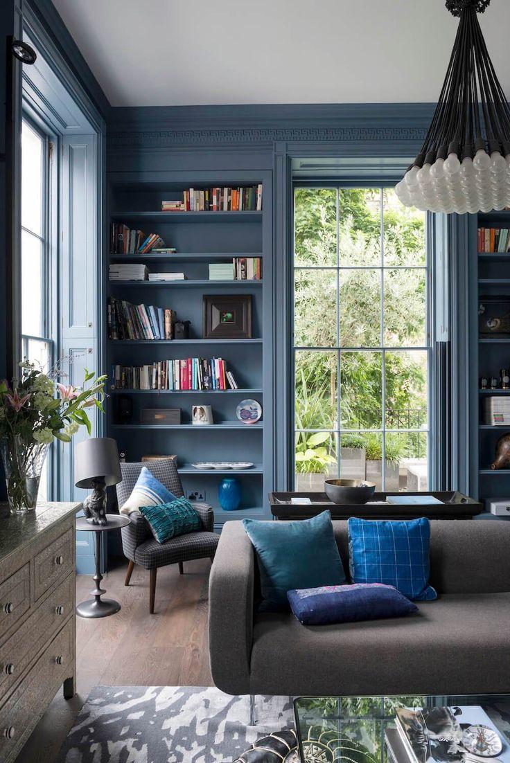 27 besten wandgestaltung mit farbe bilder auf. Black Bedroom Furniture Sets. Home Design Ideas