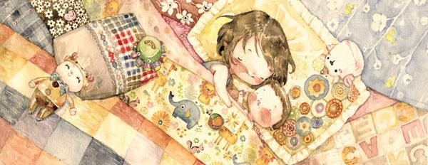 Pillows and blankets by Le Thu, via Behance