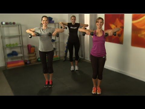 Best Arm Workouts for Women with Dumbbells