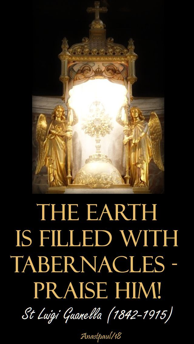 St Luigi Guenella Quote S Of The Day 31 March Laetare Anastpaul Catholic Prayers Eucharistic Adoration Saint Quotes