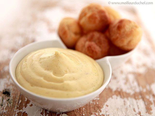 Crème pâtissière - Fiche recette avec photos - Meilleur du Chef