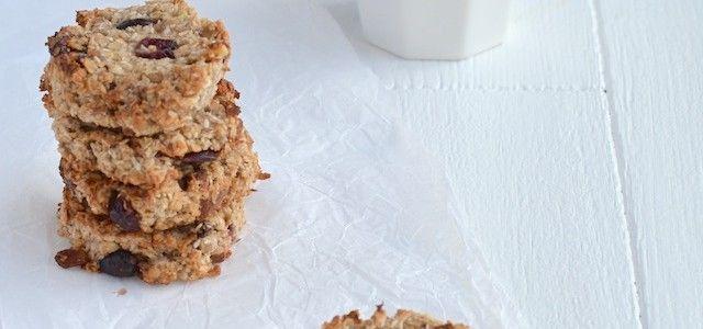 Havermoutkoekjes zonder suiker & met kokosolie - Uit Paulines Keuken