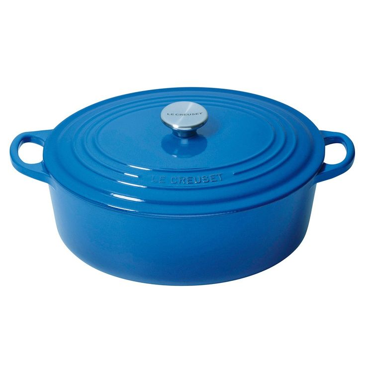 Le Creuset Cast Iron Casseroles - Marseille Blue