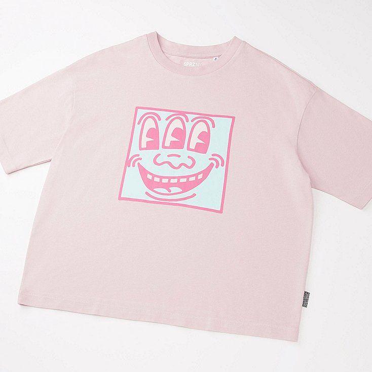 T-Shirt SPRZ NY Keith Haring FEMME