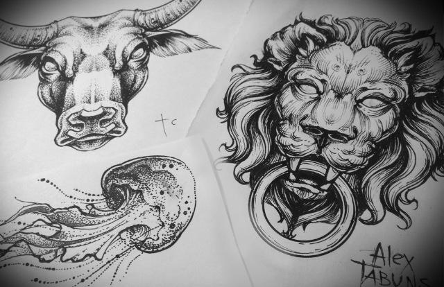Tattoo Sketches VERISA Designs Pinterest