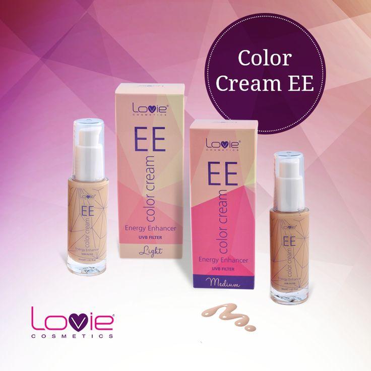 "EE color cream ""Energy Enhancer"" ~ γιατί ξεχωρίζει; Γιατί είναι μια Ενυδατική κρέμα προσώπου με χρώμα εμπλουτισμένη με δραστικά συστατικά που αναζωογονούν, επαναδομούν, ενυδατώνουν και χαρίζουν ενέργεια στην επιδερμίδα. Περιέχει UVB filter και συστατικά που καλύπτουν 12 σε 1 δράσεις: http://www.lovie.gr/make-up-lovie/EE-color-cream #lovie #cosmetics #color #cream"