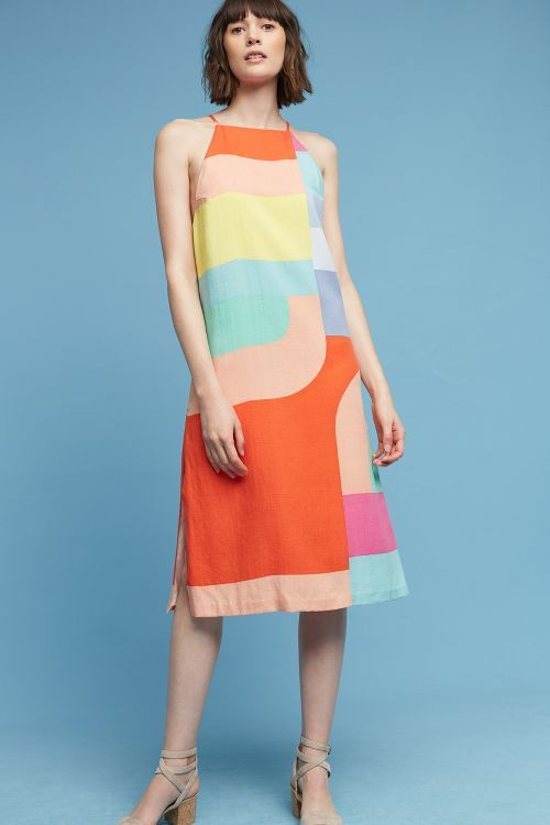 Maceio Geo Midi Dress