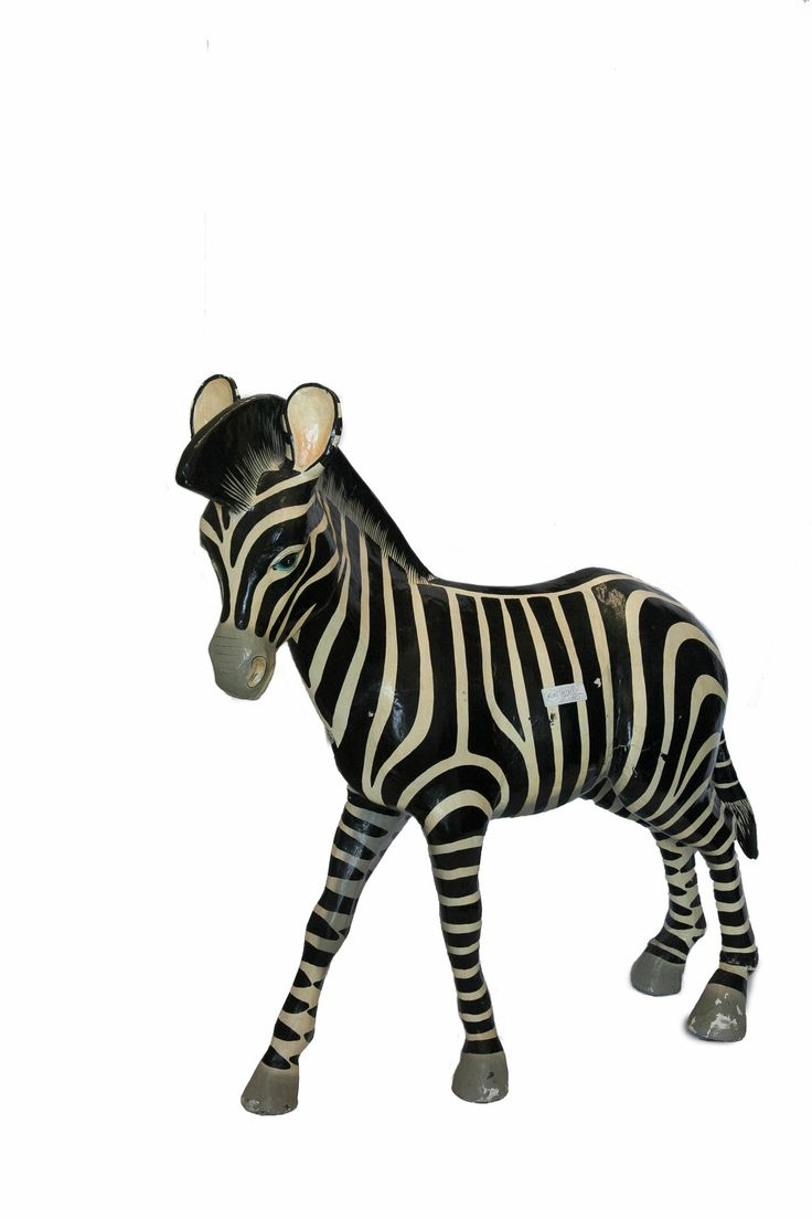 Paper Mache Zebra FleaPop Buy And Sell Home Decor Furniture Antiques