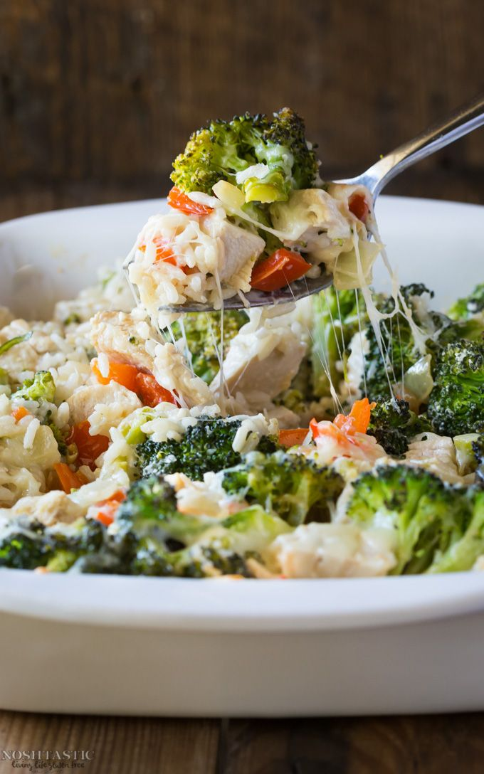 intensefoodcravings:  Chicken Broccoli and Rice Casserole, only 431 calories per serving! ViaNoshtastic