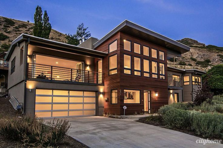 1000 Images About Modern Homes On Pinterest Garage