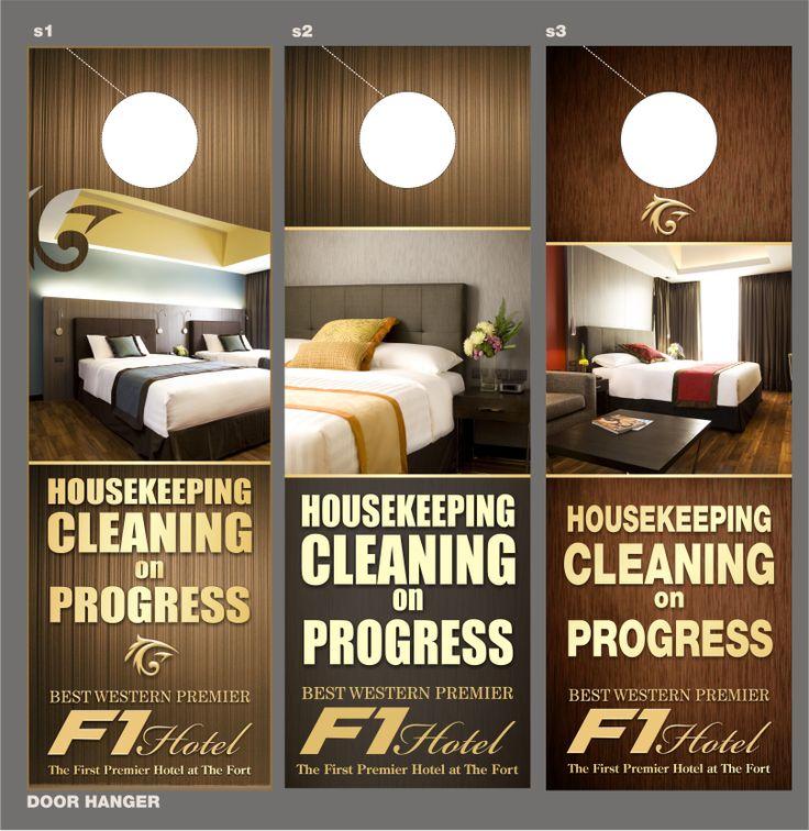 9 best Door hanger hotels images on Pinterest Hotel door, Door - restaurant door hanger template