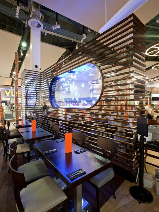 Awesome Interior Design Of Chaobaby Birmingham Restaurant With Modern Wall Decor Combined Contemporary Furniture