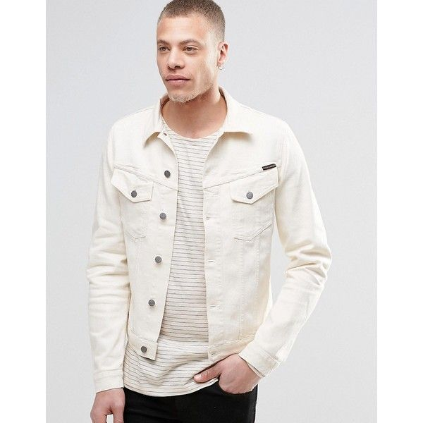 The 25  best White denim jacket mens ideas on Pinterest | Moto ...