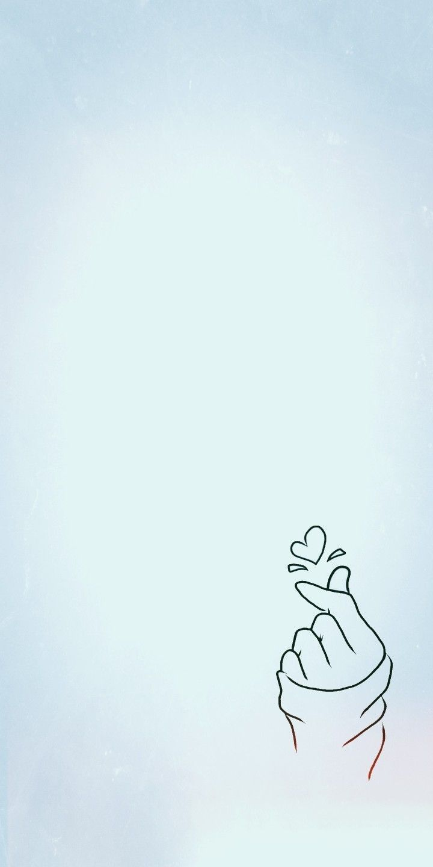 Wallpaper For Handphone Finger Heart Korea Wallpaper Kpop Latar Belakang Wallpaper Galaxy Wallpaper
