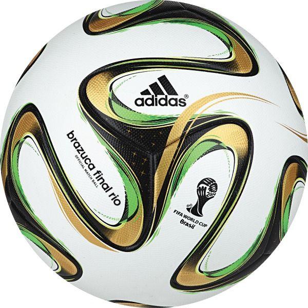 adidas Brazuca FIFA 2014 World Cup Finals Official Match Soccer Ball - model G84000