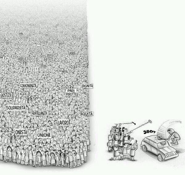 Manipulación informativa, 22M, Marchas de la Dignidad, medios.