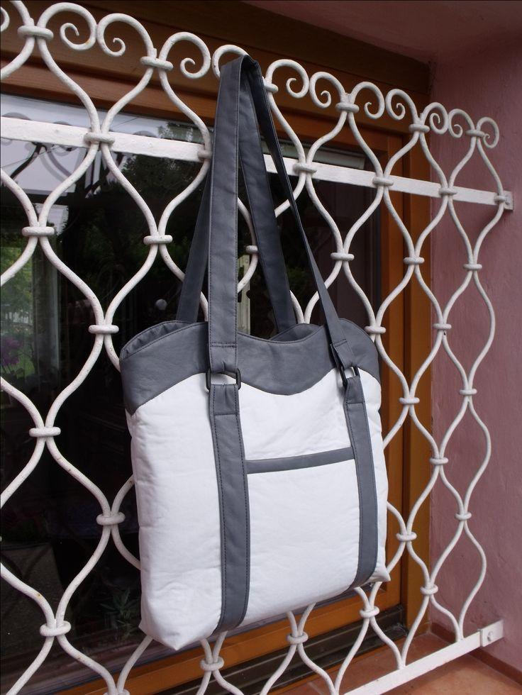 kabelka z koženky