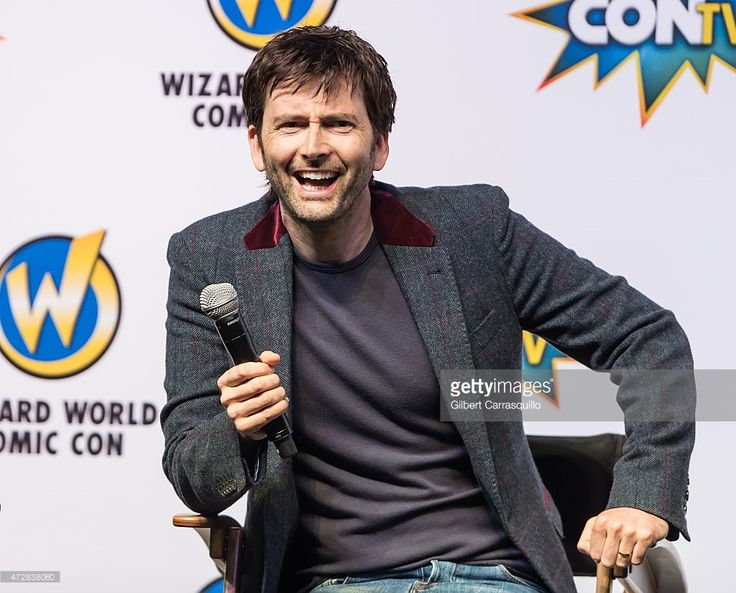 Actor David Tennant attends day 3 of Wizard World Comic Con at Pennsylvania Convention Center on May 9, 2015 in Philadelphia, Pennsylvania.