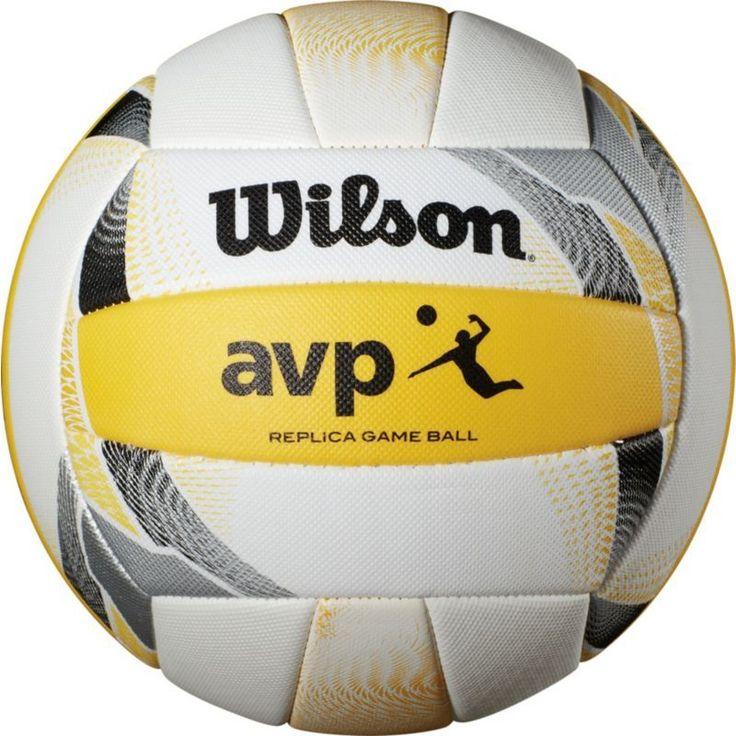 Wilson avp replica ii beach volleyball white beach