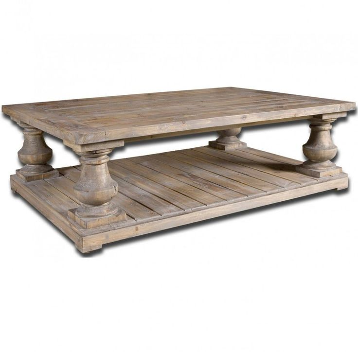 rustic wood coffee table salvaged distressed square with storage round