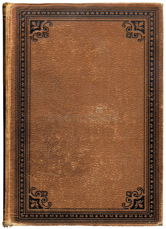 Vintage Book Cover Of An Old Book With Engraved Frame And Rough Leather Texture Ad Cover Engraved Vin Book Cover Diy Book Texture Vintage Book Covers