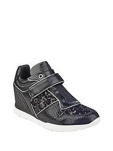 Lukka Wedge Sneakers | GUESS.ca