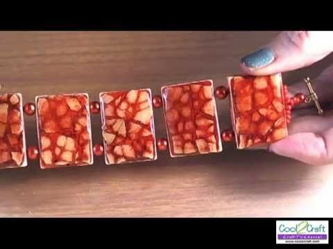 How to Make an Eggshell Mosaic Bracelet Video along with TONS of craft ideas in every category!