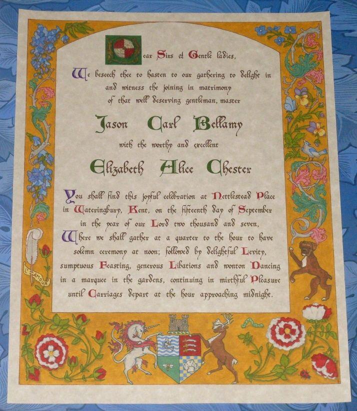 28 Best Medieval Wedding Invitations Images On Pinterest: 208 Best Renaissance & Medieval Wedding Theme Images On