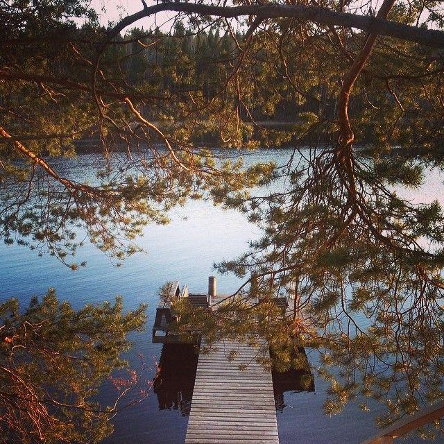#kesä #rantasauna #järvi #loma #kesäloma #omaranta #huvila #sauna #suomi #sotkamo #vuokatti #finland #summer #saunabythelake #lake #fishing #sunset #sun #midsummersun