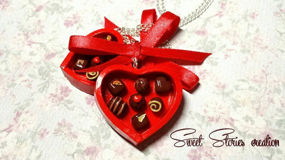 Check out this item in my Etsy shop https://www.etsy.com/listing/218248821/chocolate-heart-box-necklace-valentine