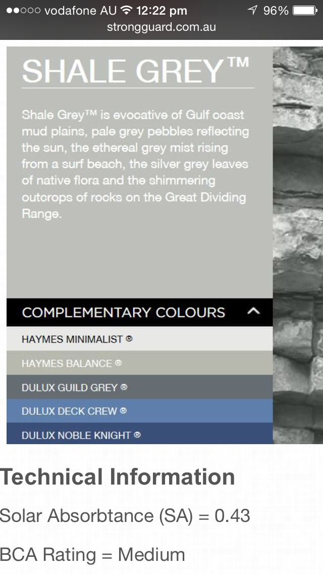 Shale Grey  http://www.strongguard.com.au/suppliers/colorbond-contemporary-colours/shale-grey
