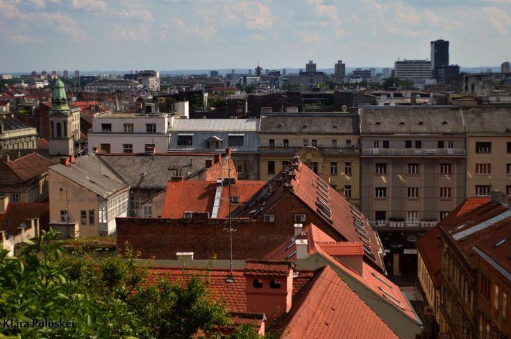 Panorama of Zagreb