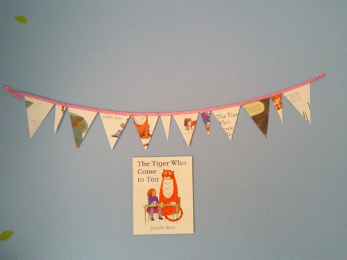 tiger who came to tea bunting