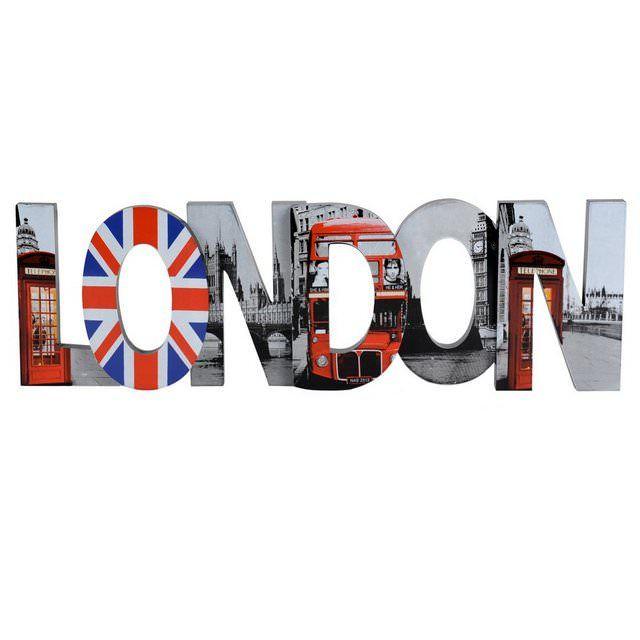 Decorazione murale London modello grande