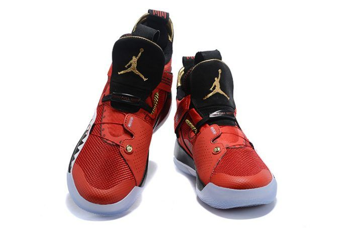 083c20a8266a90 2018 Air Jordan 33 Future of Flight Bright Red Black White Sneakers ...