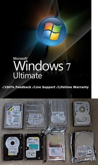 windows 7 ultimate 32 bit ebay