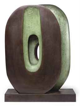 Barbara Hepworth. Bronze.