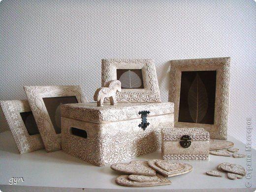 Декор предметов Коллекция Белое кружево Кружево фото 1