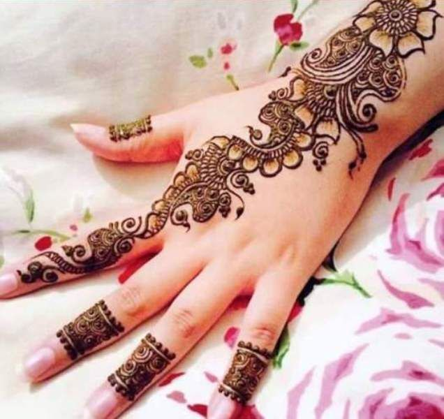 Best Bridal Henna Designs for Hands